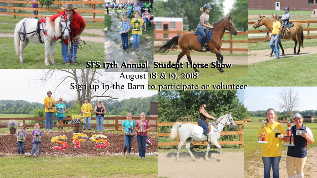 2018 SFS Student Horse Show